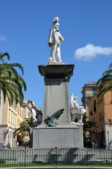 MONUMENTO VITTORIO EMANUELE II PIAZZA D'ITALIA SASSARI 01