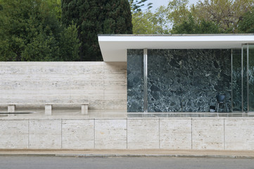Pavillon Mies van der Rohe, Barcelona, Spanien