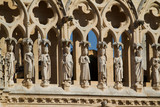 Details of The North Face of Burgos Cathedral. Spain