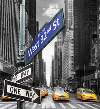 Los taxis de Nueva York.
