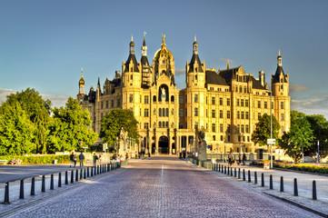 Schloß von Schwerin - Castle in Schwerin