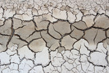 Crack soil on dry season, Global worming effect.