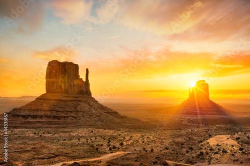 Leinwandbild Motiv Monument Valley