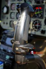 Hubschrauber-Steuer