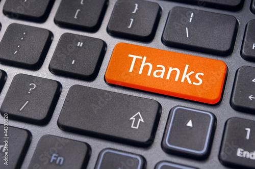 thanks message