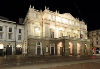 La Scala opera house.  Milan, Italy.