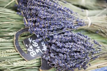 bouquet de lavande et blé