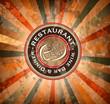 Premium quality Restaurant menù cover