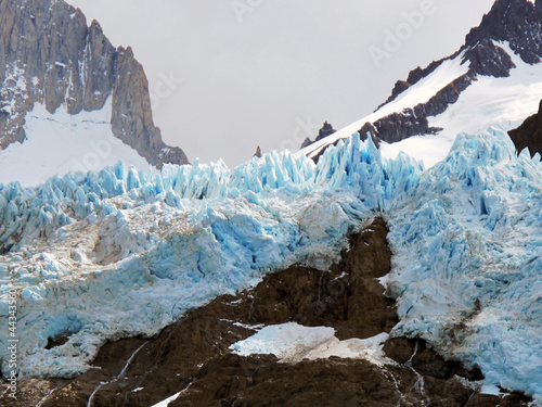 Vista general del Chalten. Argentina