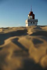Rubjerg Knude Leuchtturm mit Wanderdüne