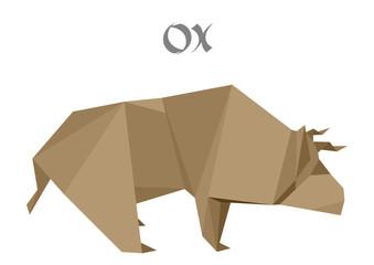 origami ox