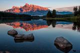 Mountain Reflection in Lake Minnewanka