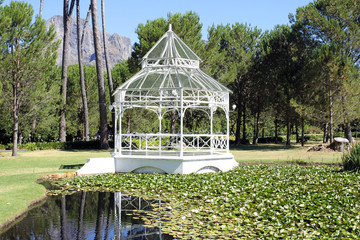 Pavilion at the Boschendal Wine Estate