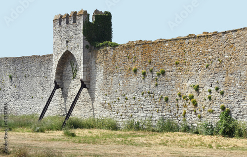 Medieval Town Wall and Tower