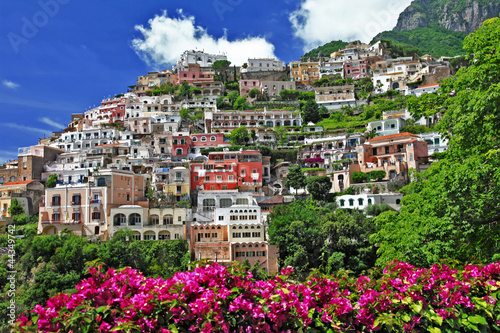Italian scenery - beautiful Positano