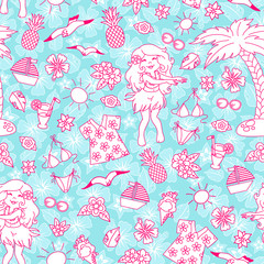 trapocal doodle pattern
