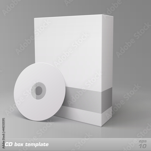 CD box template