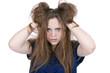 Haare raufen