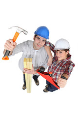 Carpentry team