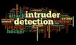 Intruder detection concept in tag cloud