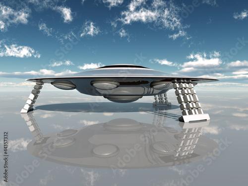 Fototapeta Alien Spacecraft