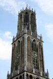 The tower of the Dom Church in Utrecht (Netherlands)