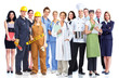 Group of industrial workers. - 44361348