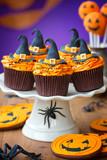 Fototapety Halloween cupcakes