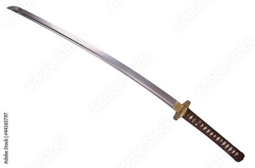 Leinwanddruck Bild Katana sword