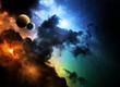 Fototapeten,abstrakt,astronaut,astronomie,hintergrund