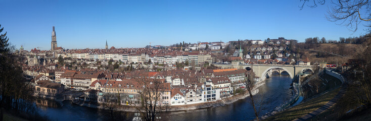 Panoramic View of Bern