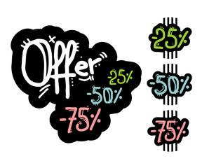 Fashion offer sign