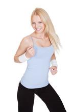 Piękne kobiety korzystające Zumba Fitness