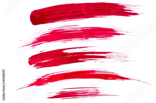 Leinwandbild Motiv Paint brush strokes