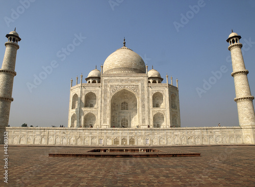East side of Taj Mahal