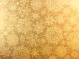 Golden elegant christmas template. EPS 8