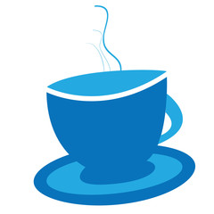 Coffee cup graphic illustration