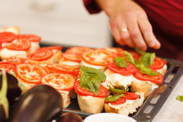 tasty bruschetta