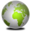 3D Weltkugel , 3D Globe