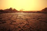 Fototapety Drought land