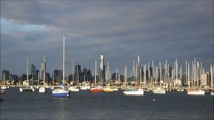 Melbourne Hafen
