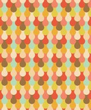 Vintage colored drop seamless pattern (vector version)