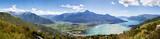 Panorama 180° bassa Valtellina - Alto lago di Como (Italy) - 44384376