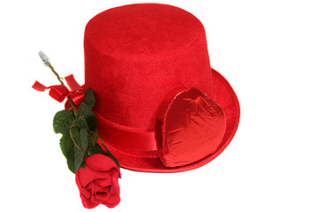 Red Rose, Candy & Top Hat