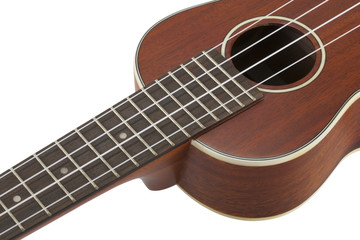 ukulele (with clipping path)
