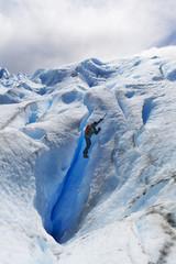 scalata sul ghiaccio, perito moreno
