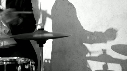 Drummer and Shadow