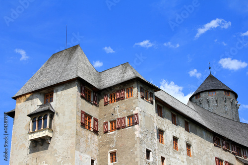 Schloss Matzen, a surviving historical Castle in Tyrol, Austria