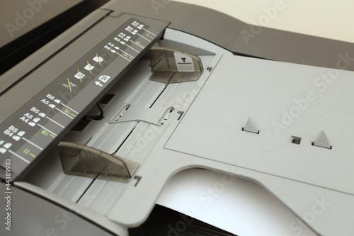 Paper size A3, A4, A5, B4, B5, B6 on laser copier