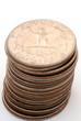 pile of quarters